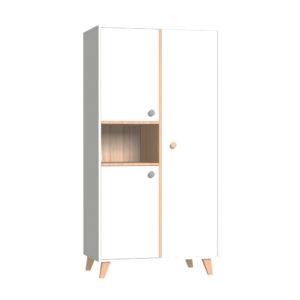 Faktum szekrény Colette Fehér 2 osztású