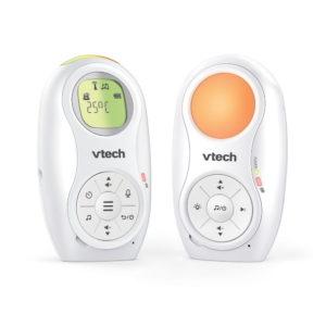 Vtech bébiőr audio dupla akkumulátorral, éjjeli fénnyel, altatódallal
