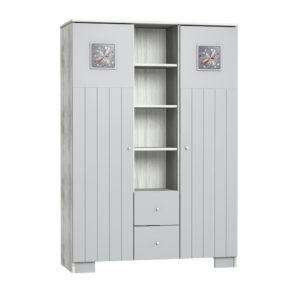 Faktum szekrény Kamilla Polar 3 osztású