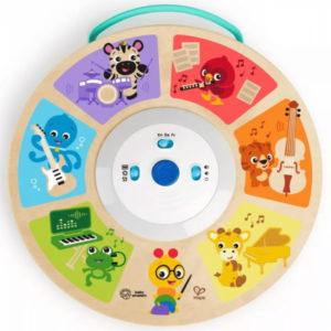 Bright Starts játék - Baby Einstein fa zenélő Cal's Smart Sounds Symphony Magic Touch Hape 6hó 12357-4