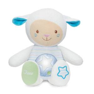 Chicco éjjeli fény zenélő Lullaby sheep bárány kék